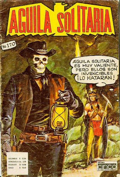 Cover for Aguila Solitaria (Editora Cinco, 1976 ? series) #170
