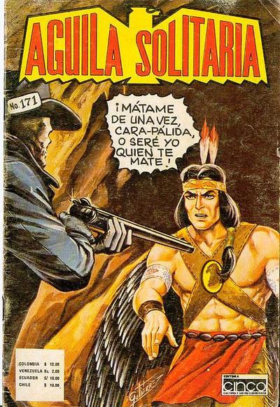Cover for Aguila Solitaria (Editora Cinco, 1976 ? series) #171