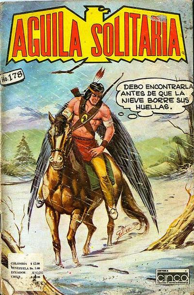 Cover for Aguila Solitaria (Editora Cinco, 1976 ? series) #178