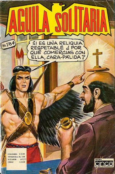 Cover for Aguila Solitaria (Editora Cinco, 1976 ? series) #184