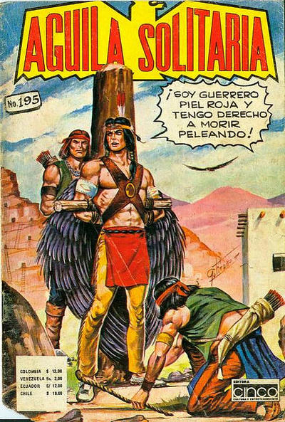Cover for Aguila Solitaria (Editora Cinco, 1976 ? series) #195
