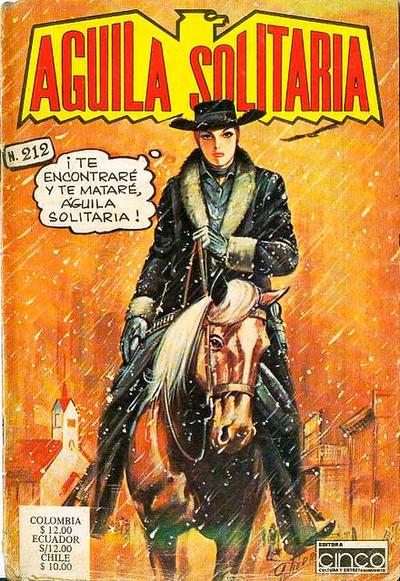 Cover for Aguila Solitaria (Editora Cinco, 1976 ? series) #212