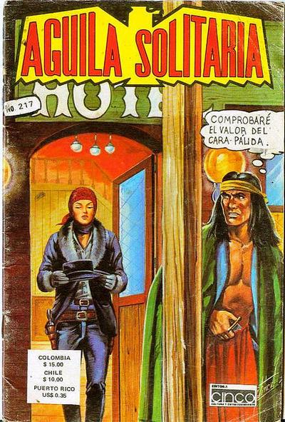 Cover for Aguila Solitaria (Editora Cinco, 1976 ? series) #217