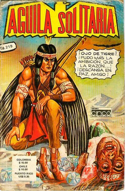 Cover for Aguila Solitaria (Editora Cinco, 1976 ? series) #219