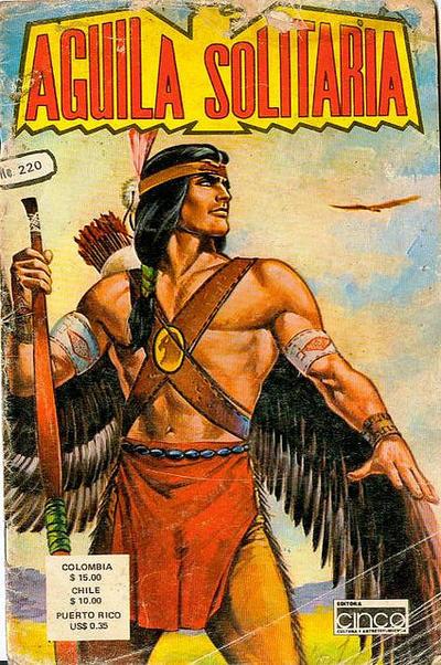 Cover for Aguila Solitaria (Editora Cinco, 1976 ? series) #220
