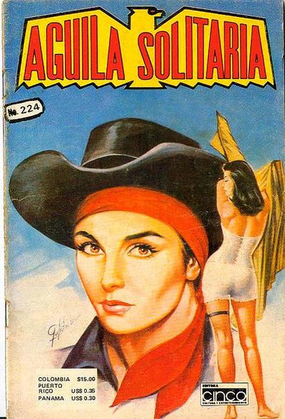 Cover for Aguila Solitaria (Editora Cinco, 1976 ? series) #224