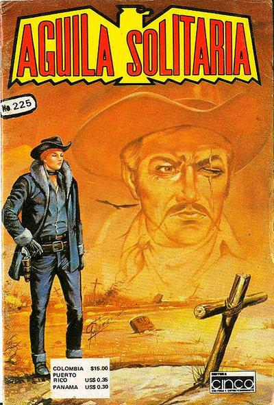 Cover for Aguila Solitaria (Editora Cinco, 1976 ? series) #225