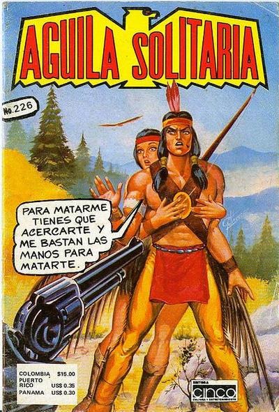 Cover for Aguila Solitaria (Editora Cinco, 1976 ? series) #226