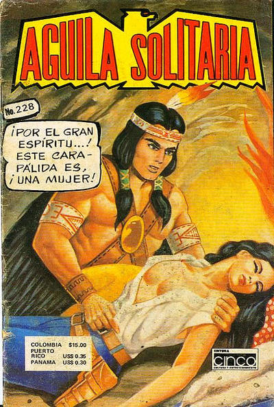 Cover for Aguila Solitaria (Editora Cinco, 1976 ? series) #228