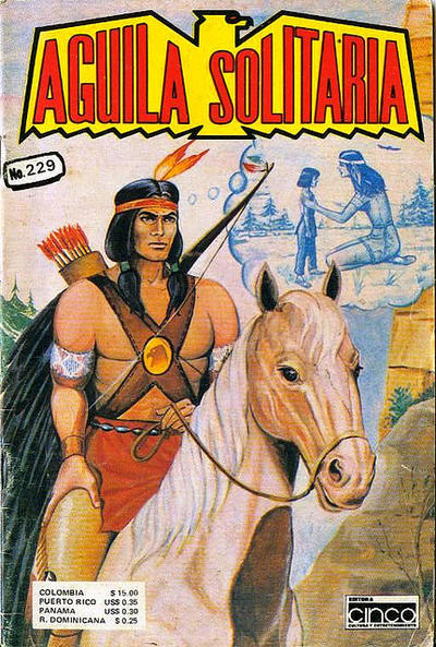 Cover for Aguila Solitaria (Editora Cinco, 1976 ? series) #229