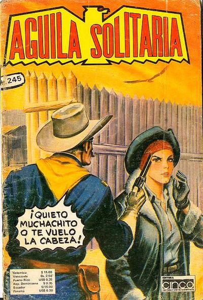 Cover for Aguila Solitaria (Editora Cinco, 1976 ? series) #245