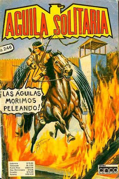 Cover for Aguila Solitaria (Editora Cinco, 1976 ? series) #246