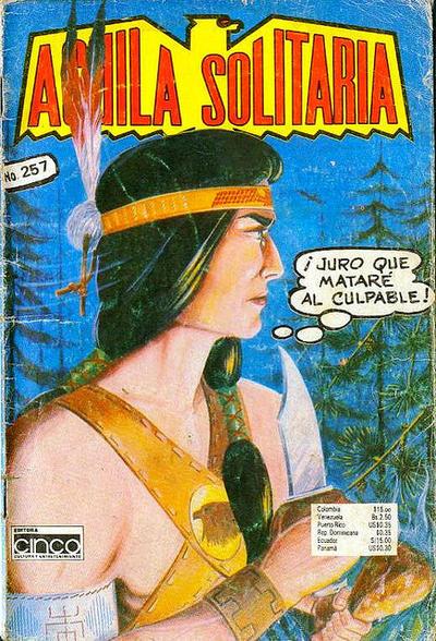 Cover for Aguila Solitaria (Editora Cinco, 1976 ? series) #257