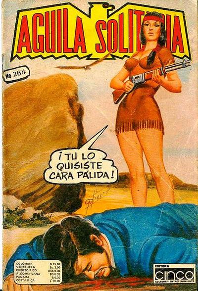 Cover for Aguila Solitaria (Editora Cinco, 1976 ? series) #264