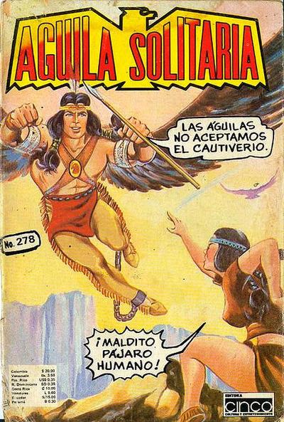 Cover for Aguila Solitaria (Editora Cinco, 1976 ? series) #278