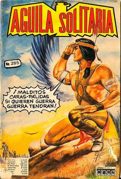Cover for Aguila Solitaria (Editora Cinco, 1976 ? series) #285