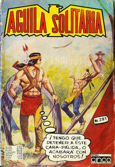 Cover for Aguila Solitaria (Editora Cinco, 1976 ? series) #291