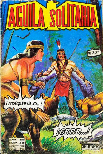 Cover for Aguila Solitaria (Editora Cinco, 1976 ? series) #302