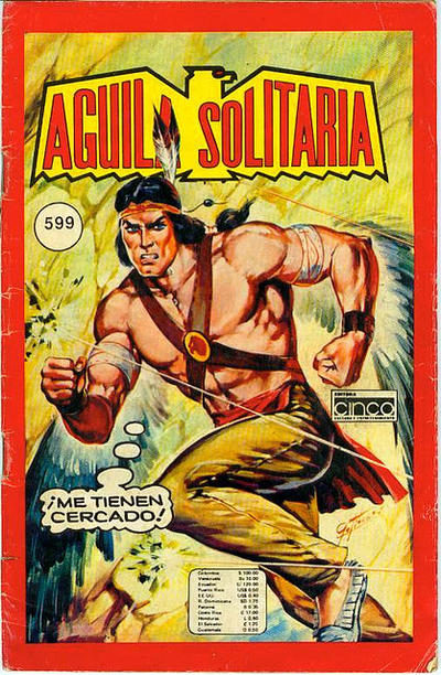 Cover for Aguila Solitaria (Editora Cinco, 1976 ? series) #599
