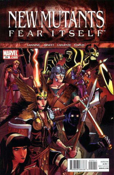 Cover for New Mutants (Marvel, 2009 series) #29