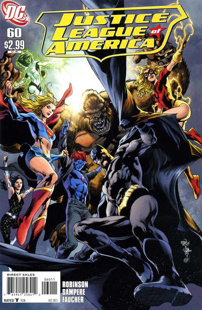 Cover for Justice League of America (DC, 2006 series) #60