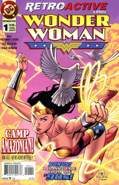 Cover for DC Retroactive: Wonder Woman - The '90s (DC, 2011 series) #1