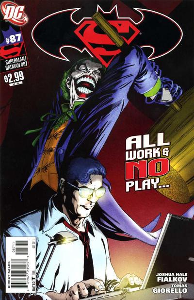Cover for Superman / Batman (DC, 2003 series) #87