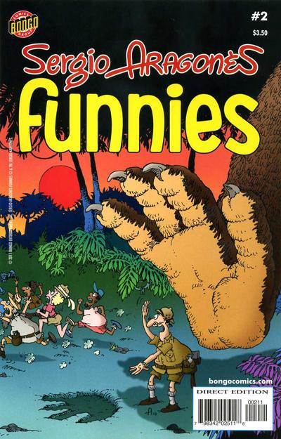Cover for Sergio Aragonés Funnies (Bongo, 2011 series) #2