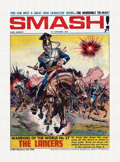 Cover for Smash! (IPC, 1966 series) #189