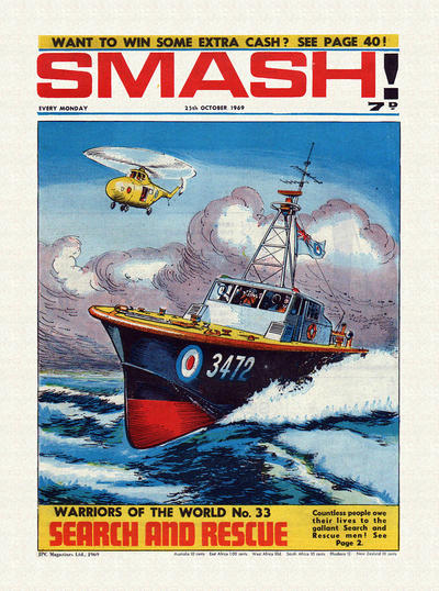 Cover for Smash! (IPC, 1966 series) #195
