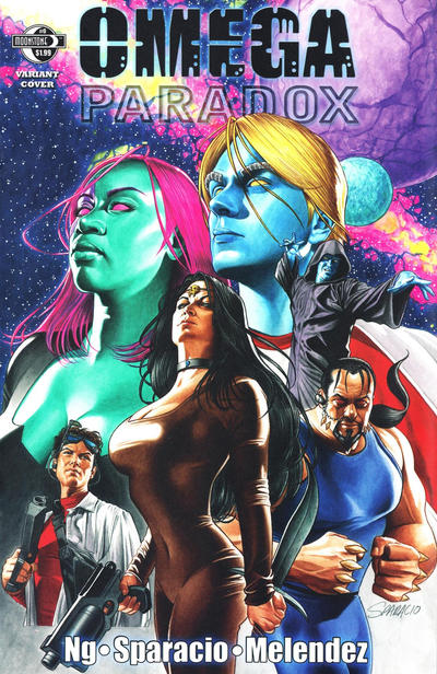 Cover for Omega Paradox (Moonstone, 2011 series) #0