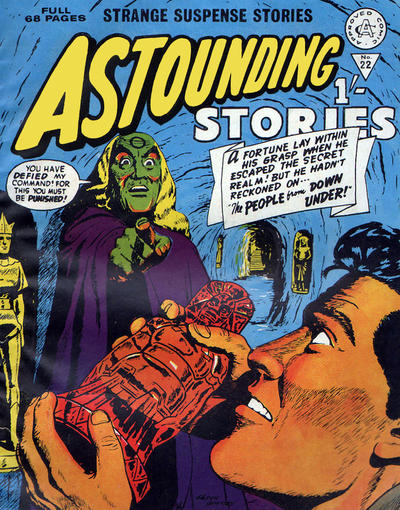 Cover for Astounding Stories (Alan Class, 1966 series) #22