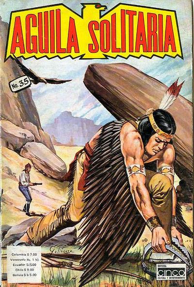 Cover for Aguila Solitaria (Editora Cinco, 1976 ? series) #35