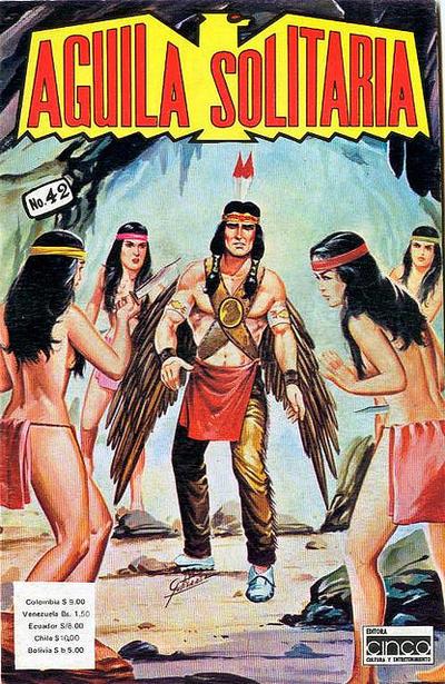 Cover for Aguila Solitaria (Editora Cinco, 1976 ? series) #42