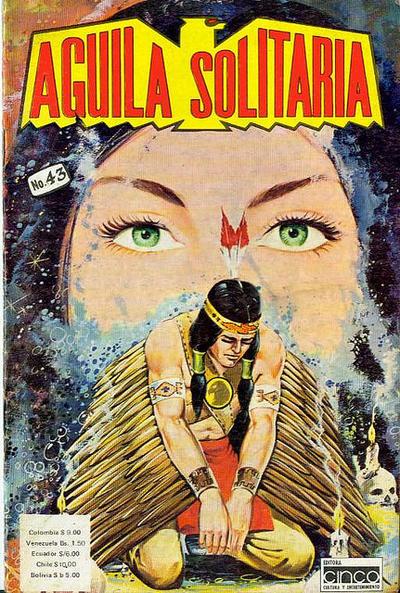 Cover for Aguila Solitaria (Editora Cinco, 1976 ? series) #43