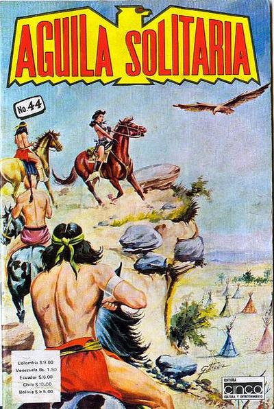 Cover for Aguila Solitaria (Editora Cinco, 1976 ? series) #44