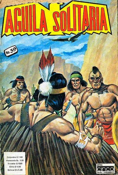 Cover for Aguila Solitaria (Editora Cinco, 1976 ? series) #39