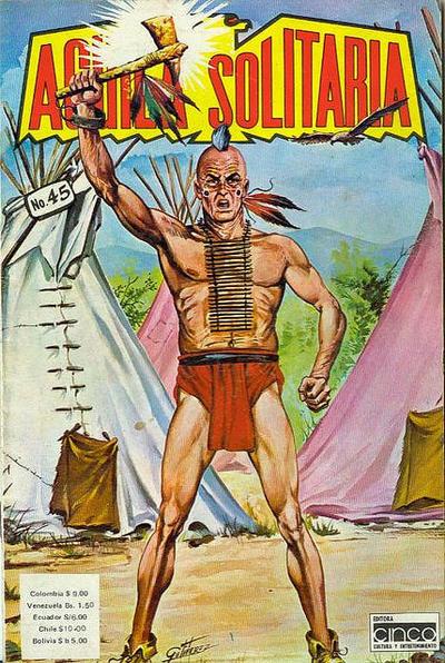Cover for Aguila Solitaria (Editora Cinco, 1976 ? series) #45