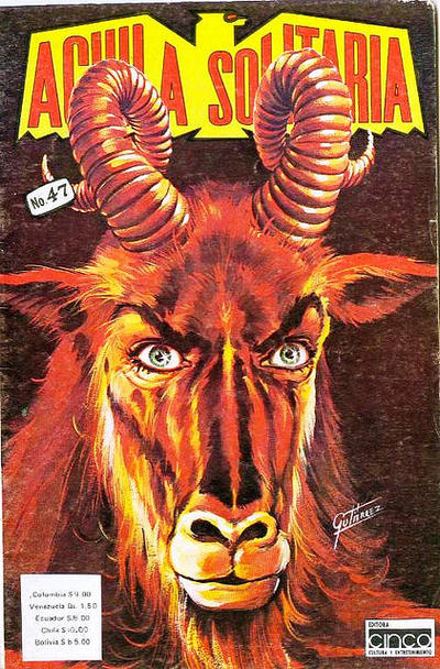 Cover for Aguila Solitaria (Editora Cinco, 1976 ? series) #47