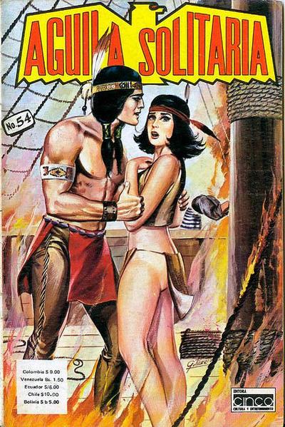 Cover for Aguila Solitaria (Editora Cinco, 1976 ? series) #54