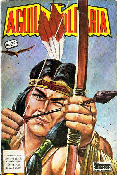 Cover for Aguila Solitaria (Editora Cinco, 1976 ? series) #60