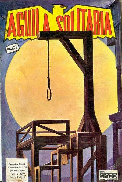 Cover for Aguila Solitaria (Editora Cinco, 1976 ? series) #61