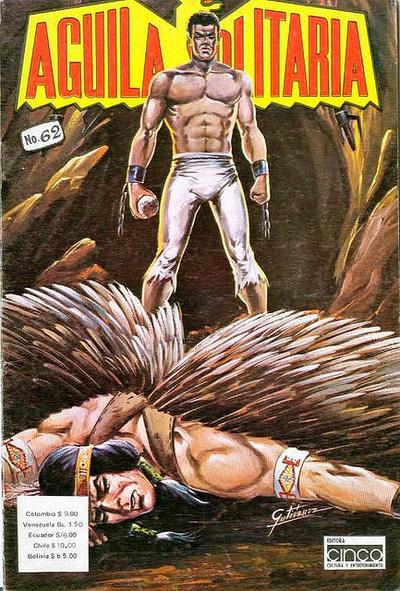 Cover for Aguila Solitaria (Editora Cinco, 1976 ? series) #62