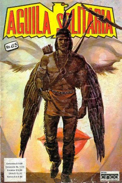 Cover for Aguila Solitaria (Editora Cinco, 1976 ? series) #65