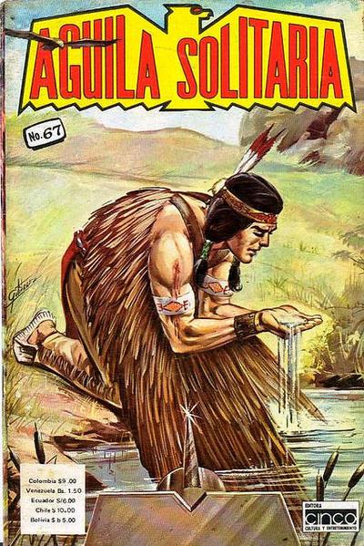 Cover for Aguila Solitaria (Editora Cinco, 1976 ? series) #67