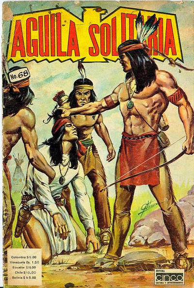 Cover for Aguila Solitaria (Editora Cinco, 1976 ? series) #68