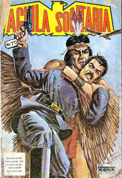 Cover for Aguila Solitaria (Editora Cinco, 1976 ? series) #70