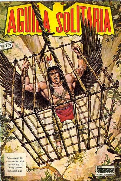 Cover for Aguila Solitaria (Editora Cinco, 1976 ? series) #75
