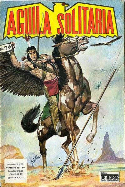 Cover for Aguila Solitaria (Editora Cinco, 1976 ? series) #74