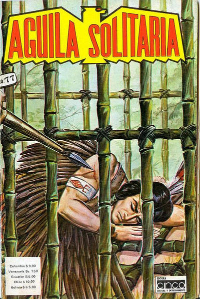 Cover for Aguila Solitaria (Editora Cinco, 1976 ? series) #77